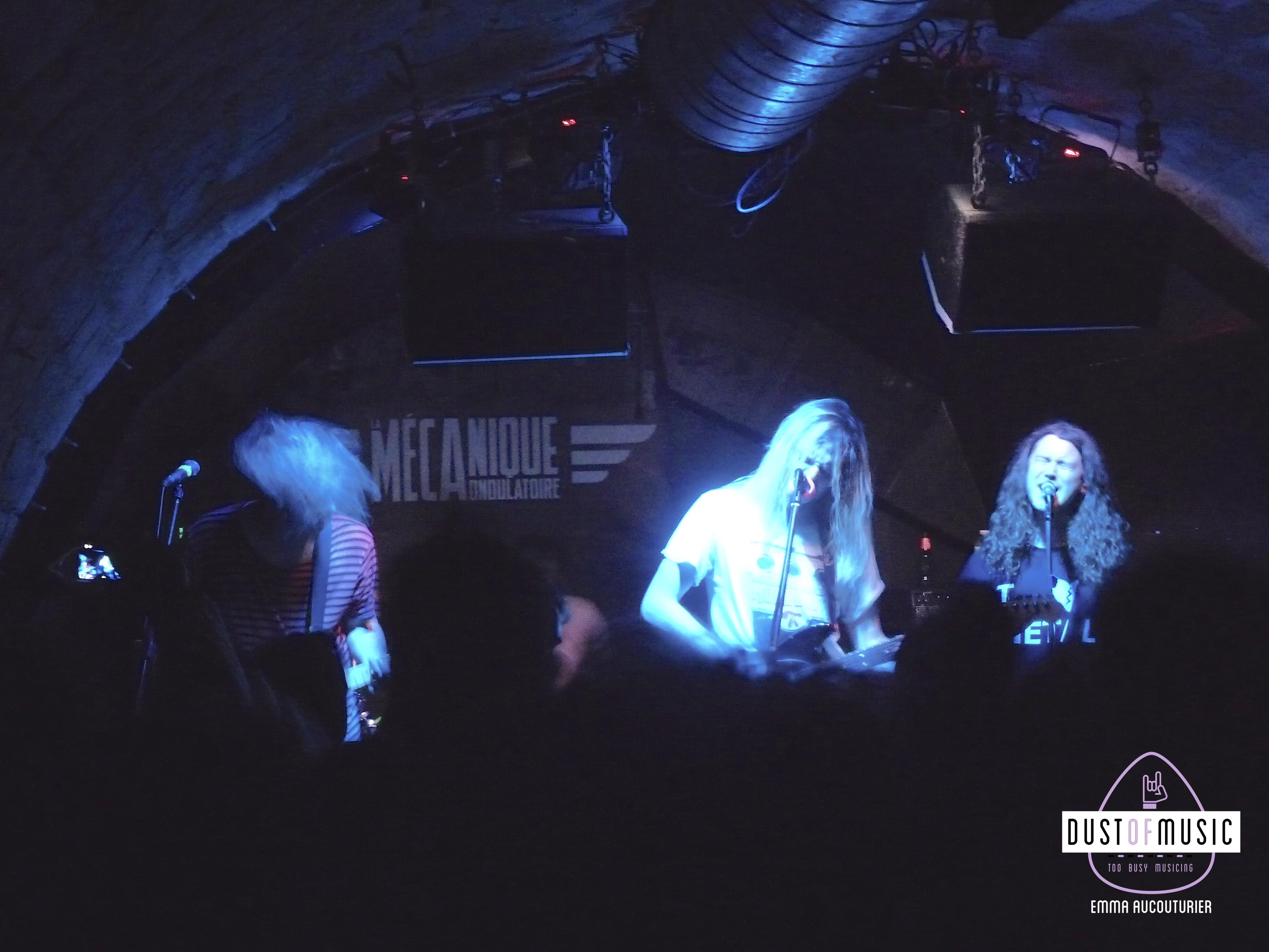 Pulled Apart by Horses à Paris : un concert grunge et énervé.4 min de lecture