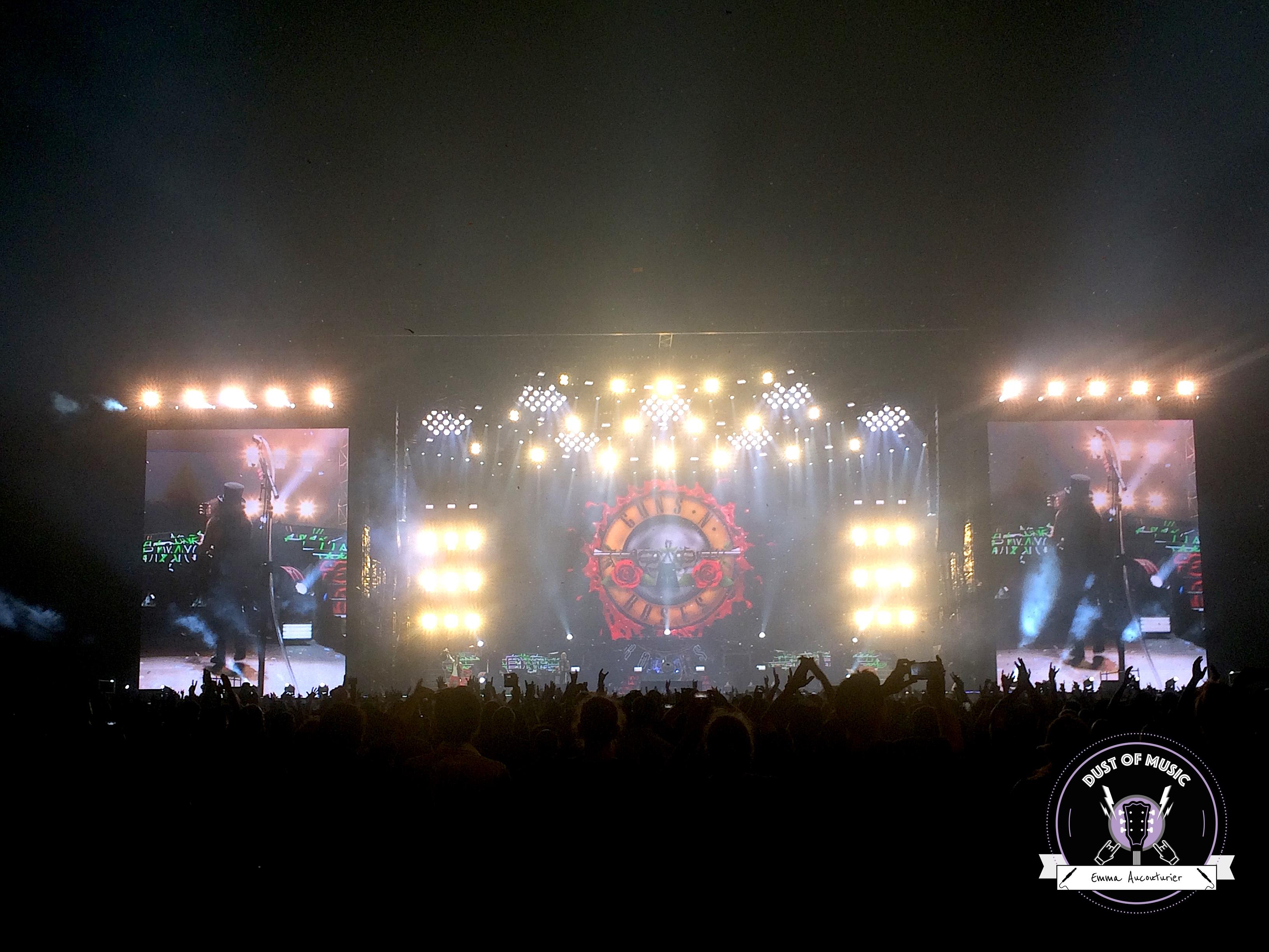 Les Guns N' Roses au Stade de France : un show exceptionnel.5 min de lecture