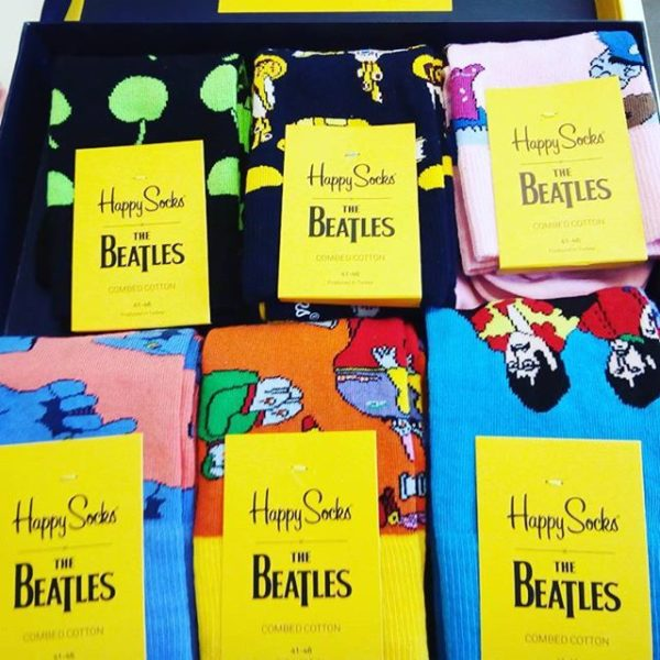 The Beatles Happy Socks Dust of Music Webzine Independant Blog Musical Lifestyle Musique Rock Actus News Concerts