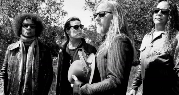Alice in Chains groupe B&W