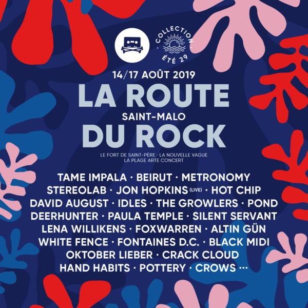 Route du Rock 2019 programmation